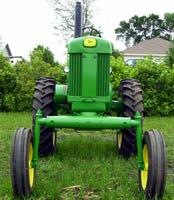 high crop tractor