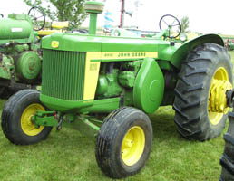 tractor with standard front end