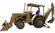 John Deere 310 backhoe photo