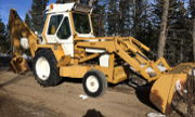 International Harvester 3500A backhoe photo