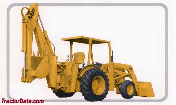 TractorData com Massey Ferguson 20C backhoe-loader tractor