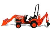 Kubota BX23 backhoe photo