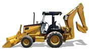 Caterpillar 416B backhoe photo