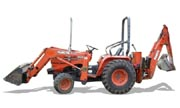 Kubota B20 backhoe photo