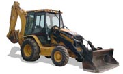 Caterpillar 420D backhoe photo