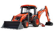 Kubota M62 backhoe photo