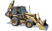 Caterpillar 426 II backhoe photo