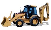 Caterpillar 428B backhoe photo