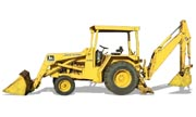 John Deere 310B backhoe photo