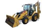 Caterpillar 428E backhoe photo