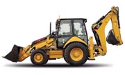 Caterpillar 432E backhoe photo