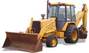 John Deere 310C backhoe photo