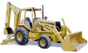 Caterpillar 446 backhoe photo