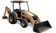 John Deere 110TLB backhoe photo