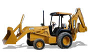 John Deere 310E backhoe photo