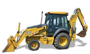 John Deere 310G backhoe photo