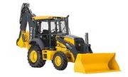 John Deere 315SJ backhoe photo
