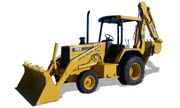 John Deere 410D backhoe photo