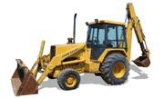 John Deere 510C backhoe photo
