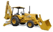 John Deere 710B backhoe photo