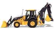 John Deere 710J backhoe photo
