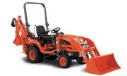Kubota BX25 backhoe photo