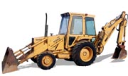 Ford 555A backhoe photo