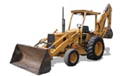 Ford 555B backhoe photo