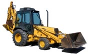 Ford 555C backhoe photo