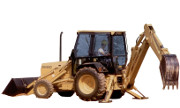 Ford 555D backhoe photo