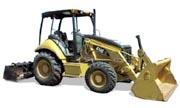 Caterpillar 414E industrial tractor photo