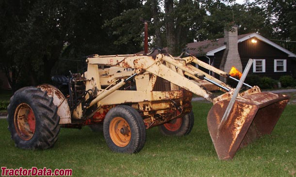 Case 530 Farm Tractor : Tractordata j i case ck construction king