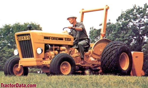 Industrial Ford 2000 Tractor : Ford industrial tractor