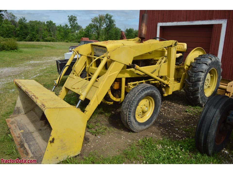 Ford 4500 Industrial Tractor Backhoe : Ford industrial tractor injector pump timing autos post