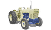 Ford 4500 industrial tractor photo