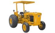 John Deere 302 industrial tractor photo