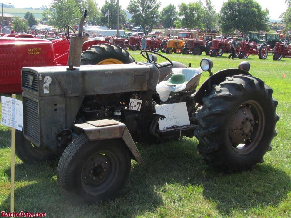 Ferguson 40 Tractor : Tractordata massey ferguson industrial tractor