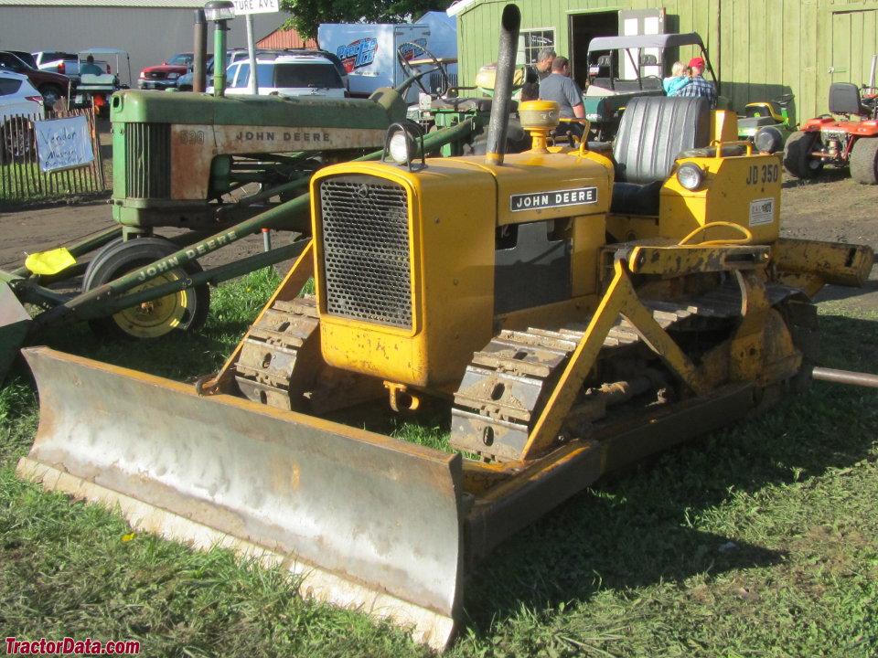 TractorData com John Deere 350 industrial tractor photos