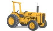 Massey Ferguson 20C industrial tractor photo