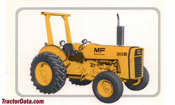 Massey Ferguson 30B industrial tractor photo