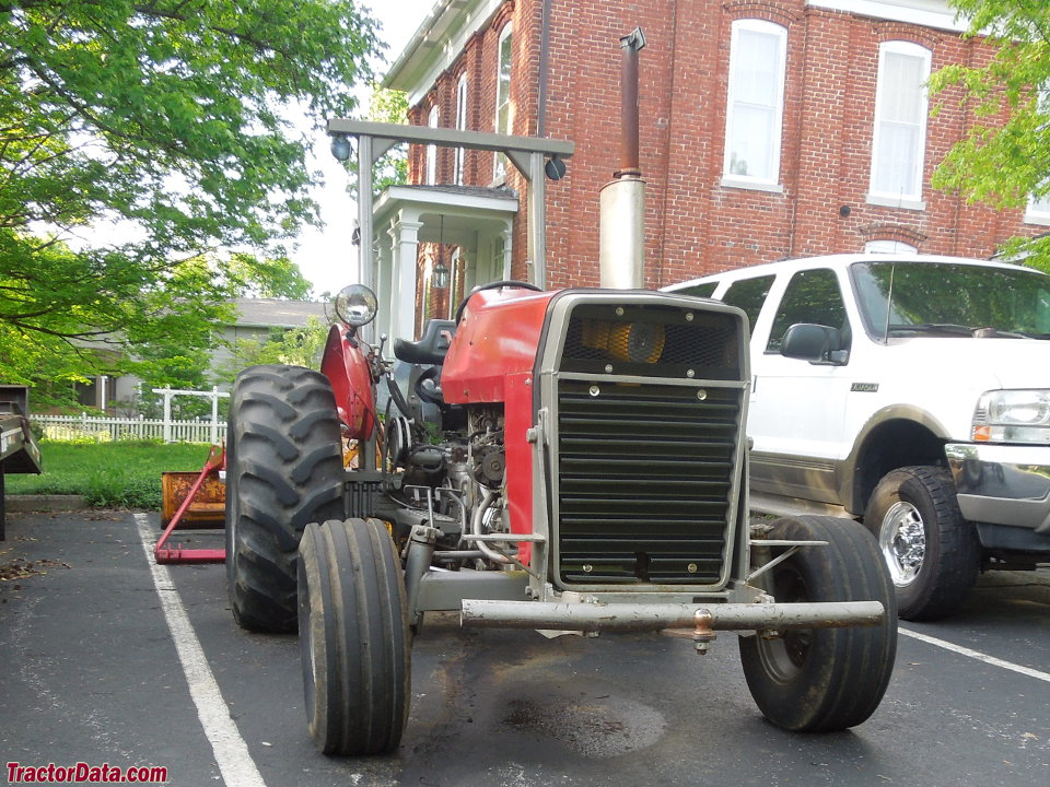 Ferguson 40 Industrial Tractor : Tractordata massey ferguson b industrial tractor