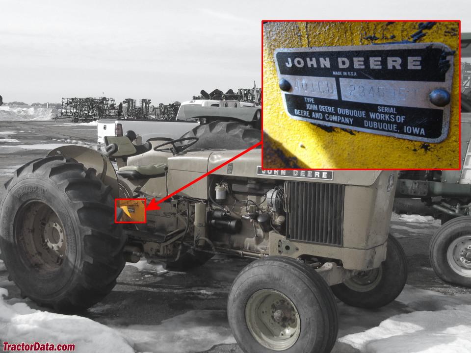 TractorData.com John Deere 401C industrial tractor information on