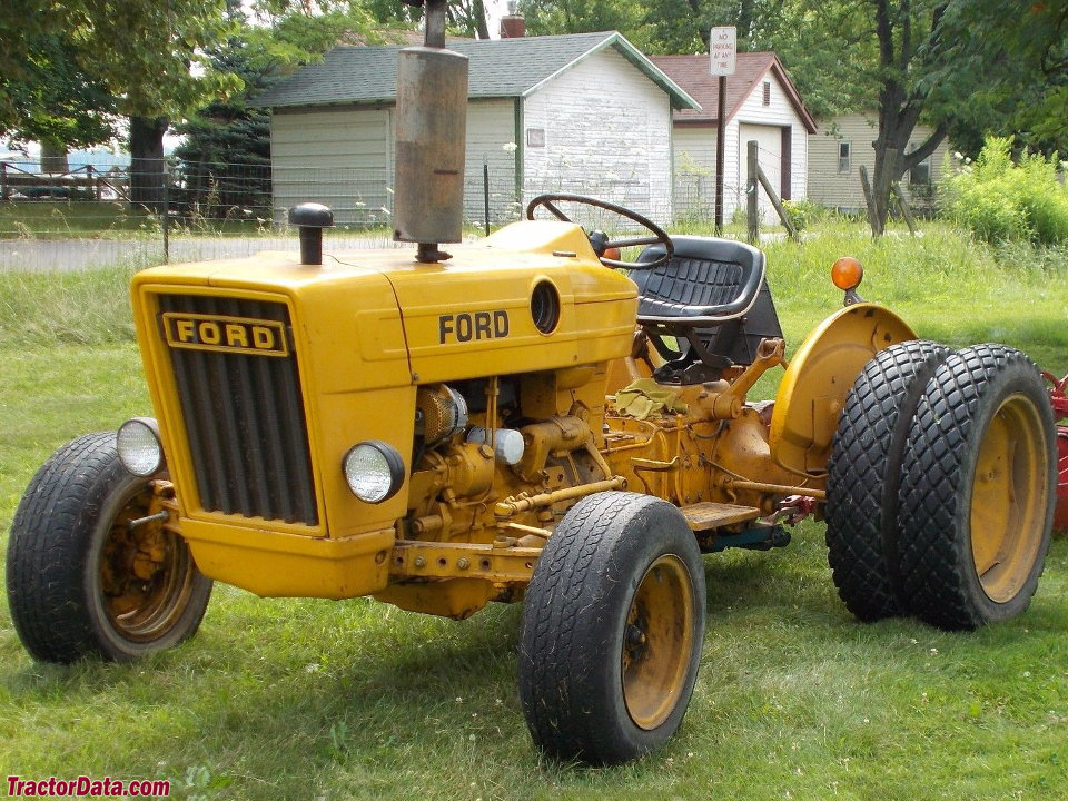 Industrial Ford 2000 Tractor : Tractordata ford tractor photos information