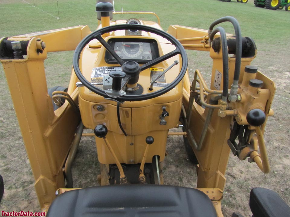 Ford Backhoe Controls : Tractordata ford tractor photos information