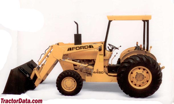 Industrial Ford 2000 Tractor : Tractordata ford d industrial tractor photos