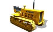 John Deere 440C industrial tractor photo