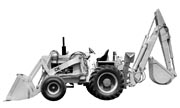 J.I. Case 680C Construction King industrial tractor photo