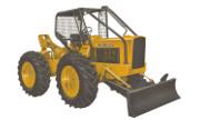 John Deere 210LJ industrial tractor photo