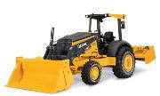 John Deere 210K industrial tractor photo