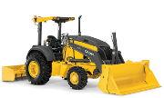 John Deere 210L industrial tractor photo